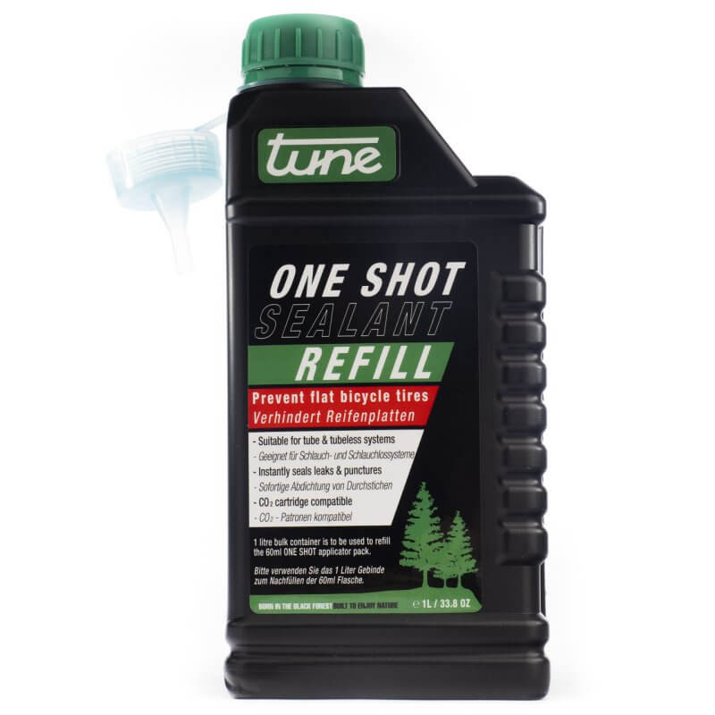 One Shot sealant for tubeless tyres